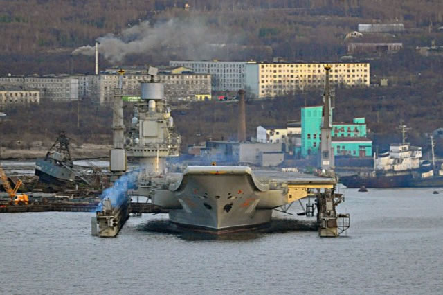 Russian Navy: Admiral Kuznetsov aircraft carrier repairs to begin in 2018