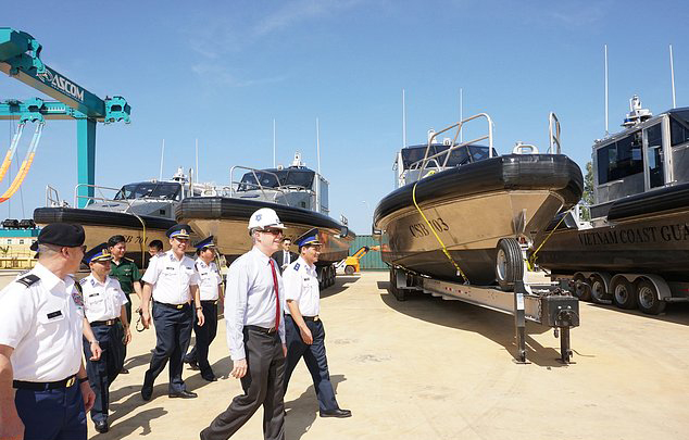 Metal Shark Delivers Patrol Boats to the Vietnam Coast Guard