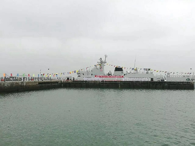 PLAN Type 056A ASW Corvette Guangyuan 552 China