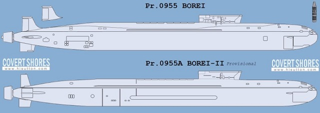 Project 955A SSBN analysis 2