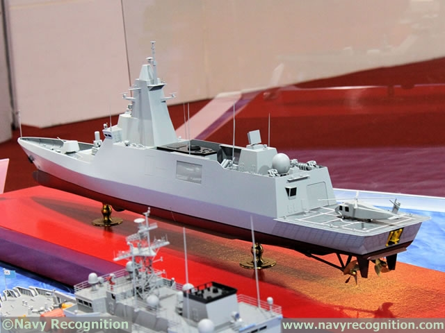 Royal Thai Navy DW3000 Frigate DSME 3