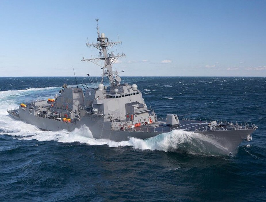 General Dynamics Bath Iron Works contracted to build a fifth DDG 51 destroyer