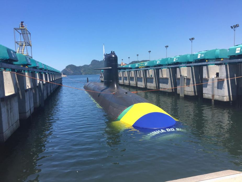 naval group launch riachuelo 1st brazilian scorpene submarine
