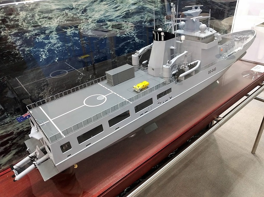 Luerssen Australia and ASC Started Construction of Future RAN OPVs
