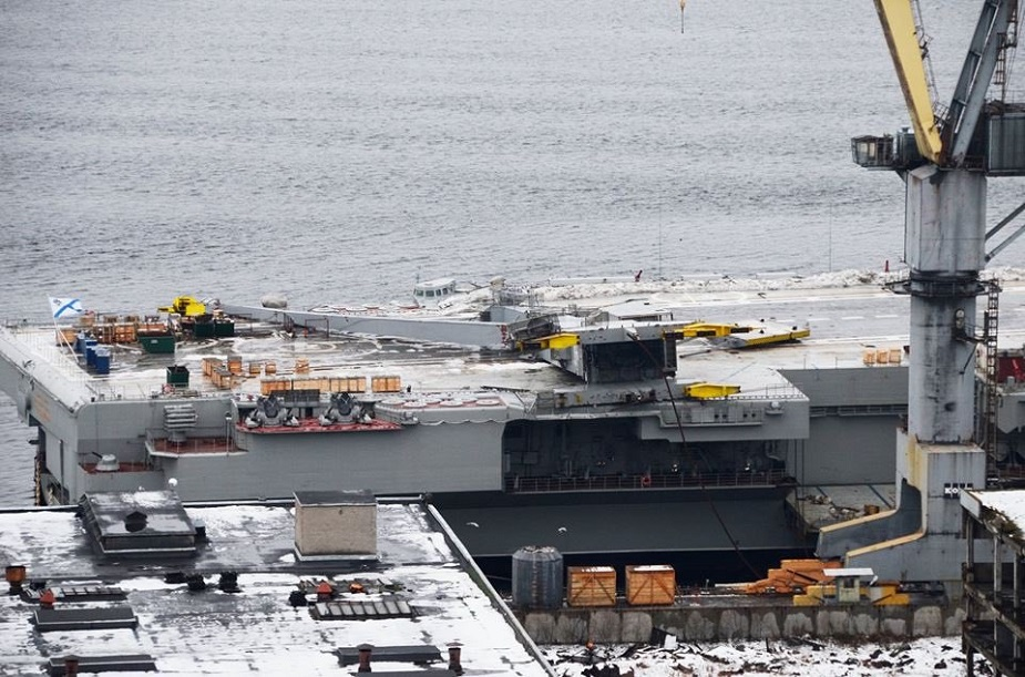 Repairs to Admiral Kuznetsov Aircraft Carrier to Cost 1 Million USD
