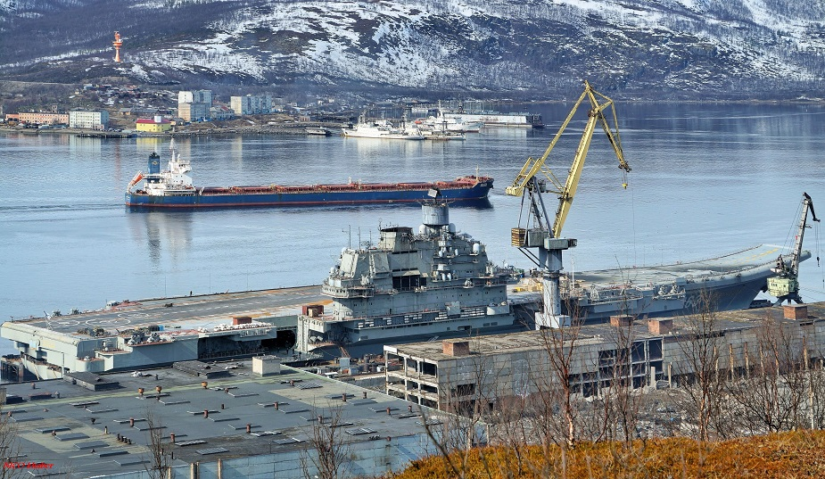 Contract for Overhaul of Russian Navys Aircraft Carrier Signed