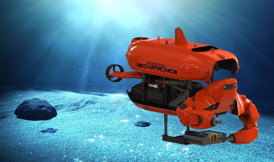 Houston Mechatronics Unveils Aquanaut Shape Shifting Underwater Robot 1