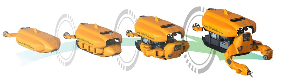 Houston Mechatronics Unveils Aquanaut Shape Shifting Underwater Robot 2