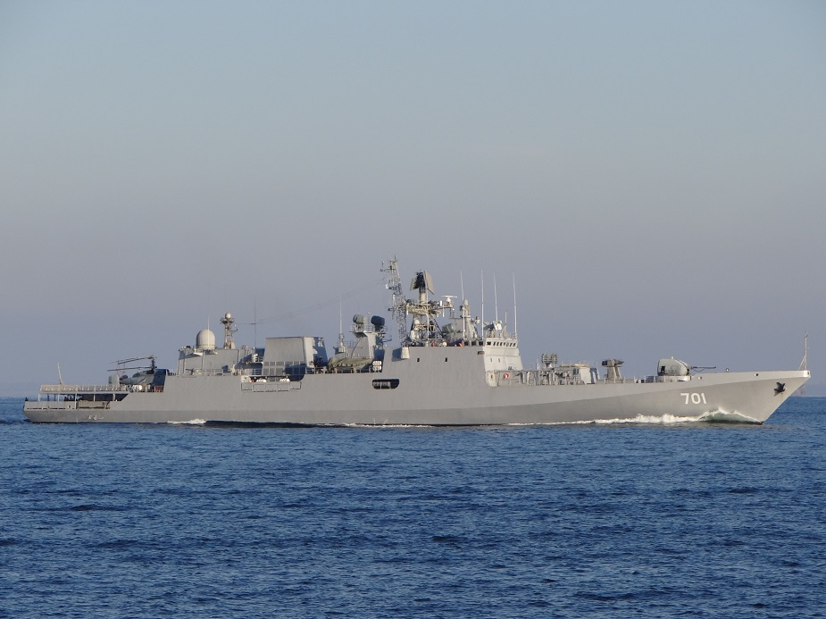 Russia India prepare contract for four project 11356 frigates 1