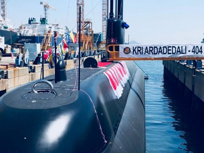 South Koreas DSME Delivered the 2nd Type 2091200 Submarine to Indonesia TNI AL