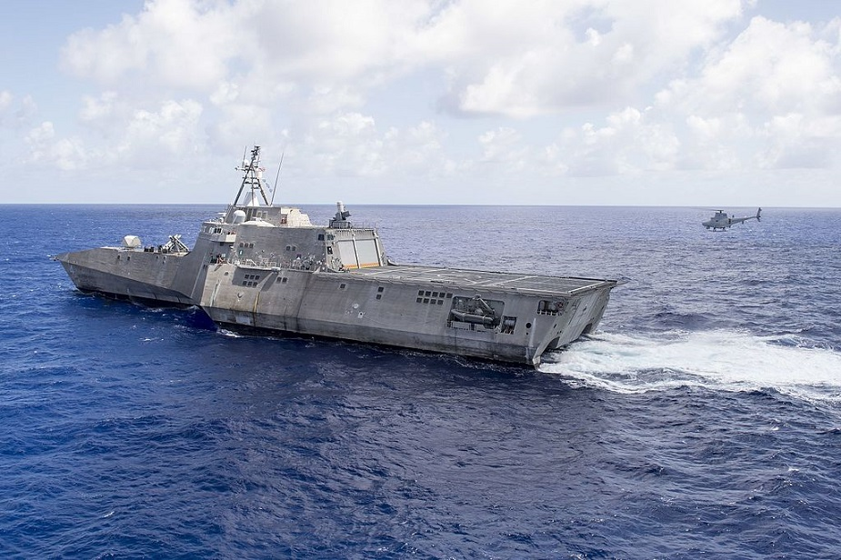 USS Coronado Completes Operational Testing of ANDVS 1 COBRA Mine Detection System