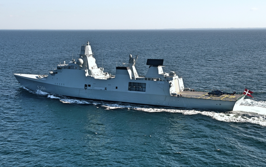 Danish Navy Iver Huitfeldt class Frigate Set to Join French CSG in 2019