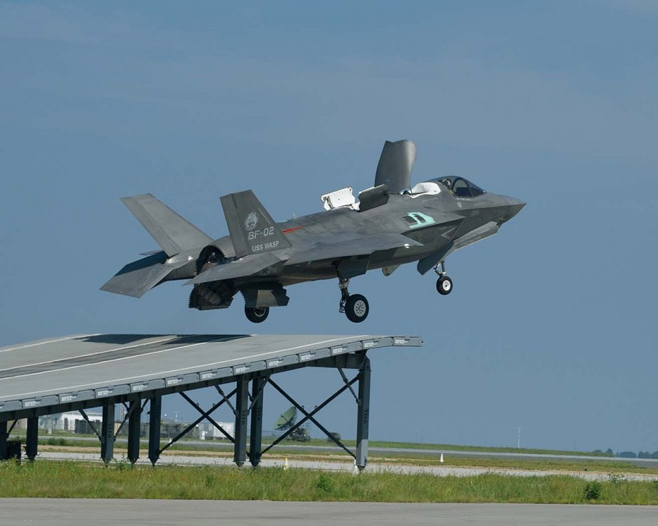 F 35B pilots ramp up training for HMS Queen Elizabeth debut