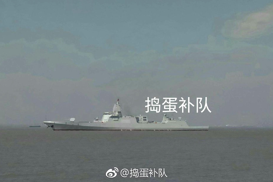 First PLAN Type 055 Destroyer Nanchang Started Sea Trials in China
