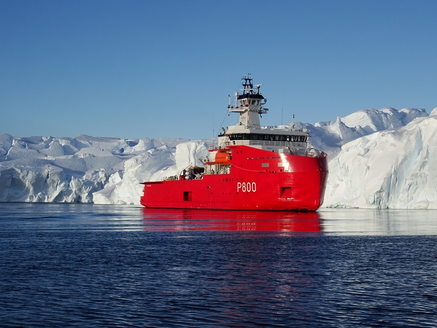 French Navy Polar Logistic Support Vessel LAstrolabe is Now on Active Service