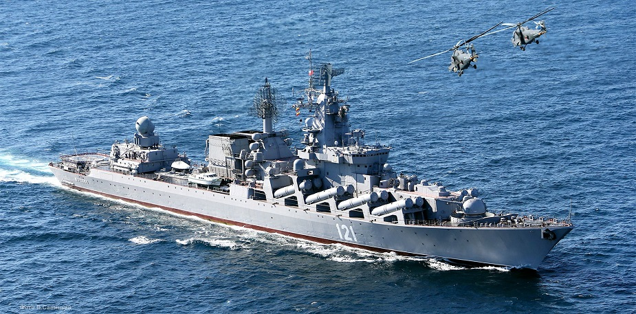 Russian Navy Cruiser Moskva to be Overhauled in Crimea
