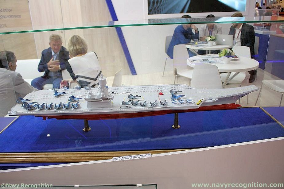 Russias Krylov Research Center Unveils Light Aircraft Carrier Design 1