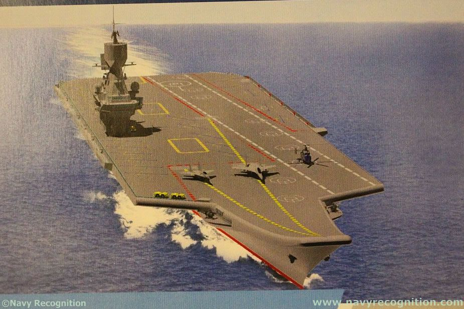 Russias Krylov Research Center Unveils Light Aircraft Carrier Design 2