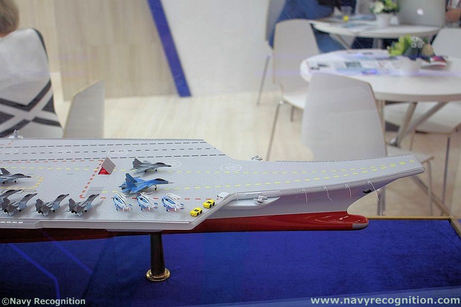 Russias Krylov Research Center Unveils Light Aircraft Carrier Design 3