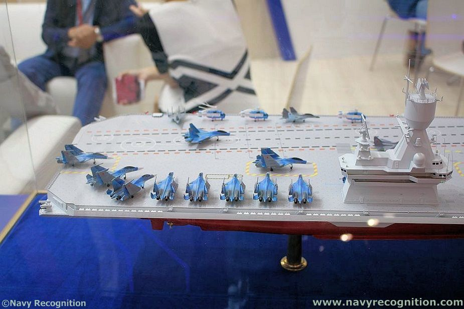 Russias Krylov Research Center Unveils Light Aircraft Carrier Design 4