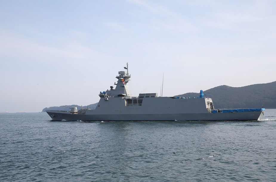 First Daegu class FFX II Frigate delivered to ROK Navy 2
