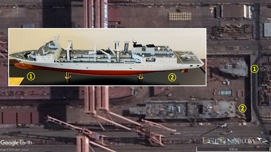 China Building a 3rd Type 901 Large Replenishment Oiler for PLAN 1