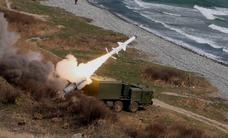 Russia Pacific Fleet BAL coastal missile system