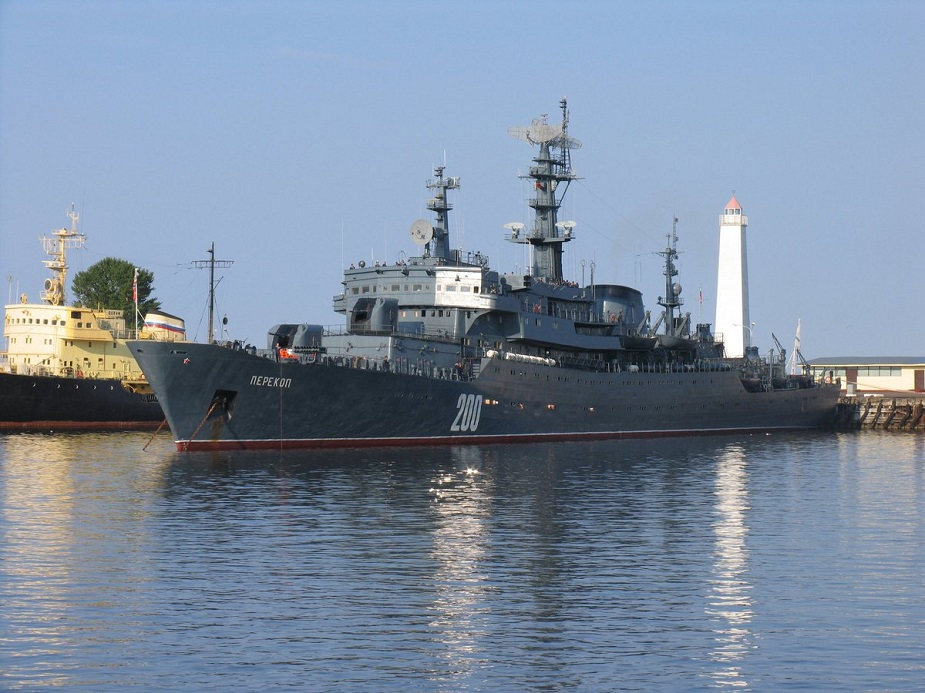 Russian Navy Smolny class training ship Perekop