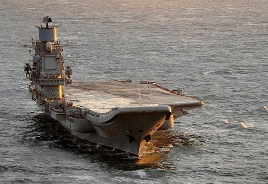 Admiral Kuznetsov aircraft carrier to enter trials following overhaul