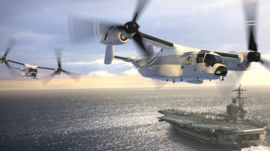 Bell Boeing to begin Production on U.S. Navy New COD Aircraft The CMV 22B