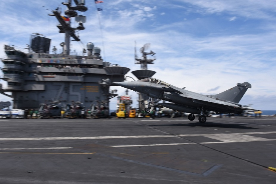 U.S. Navy Conducting Integrated Flight Operations with French Navy Once Again 2