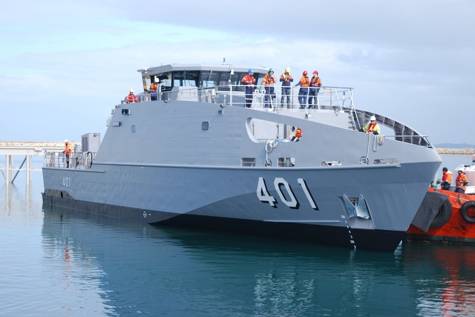 Austal Launches First Guardian Class Pacific Patrol Boat