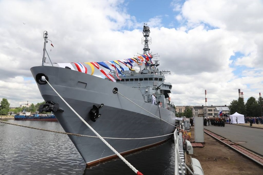 Second Project 18280 Reconnaissance Ship Ivan Khurs Completes Acceptance Trials