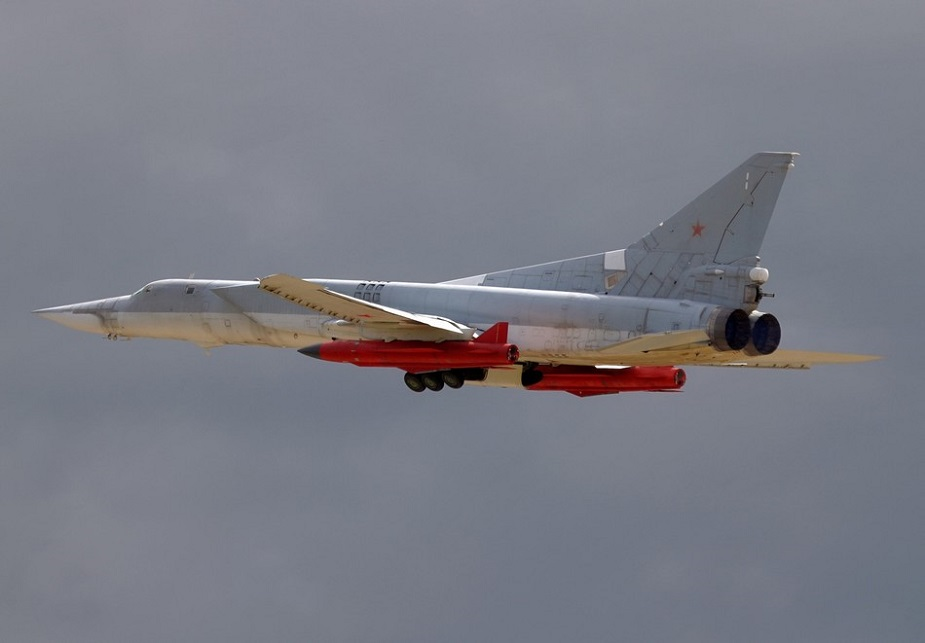 Tu-22M3M with KH-32 missile