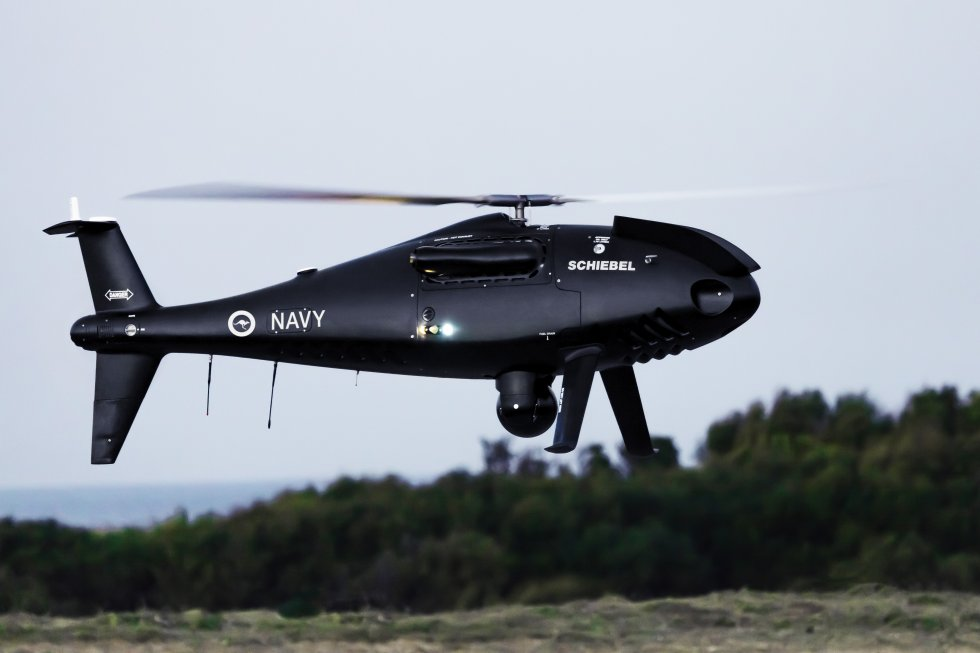 Schiebel Camcopter S 100 UAS ready for Royal Australian Navy service