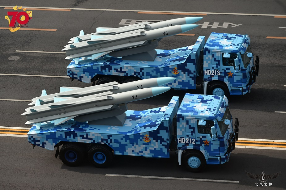China Deploys YJ 12B and HQ 9B Missiles on South China Sea Islands 1
