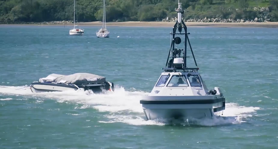 First Unmanned Minesweeping System Handed Over to Royal Navy 1
