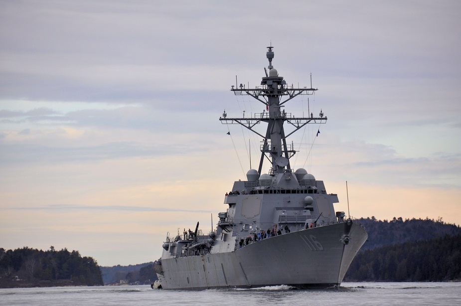 Flight IIA Technology Insertion Destroyer Thomas Hudner Completes Acceptance Trials