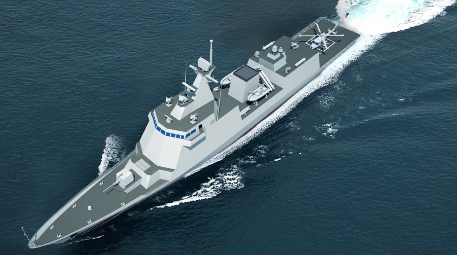 HHI Cut Steel of Philippine Navy Future HDF 3000 1