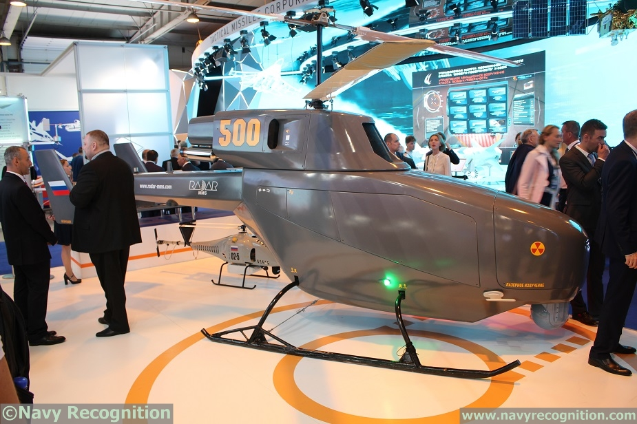 Russian Project 22160 Corvettes to be fitted with BPV 500 VTOL UAVs