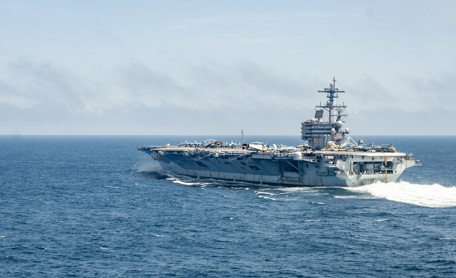 USS George H.W. Bush Conducts Flight Ops With French Navy 1