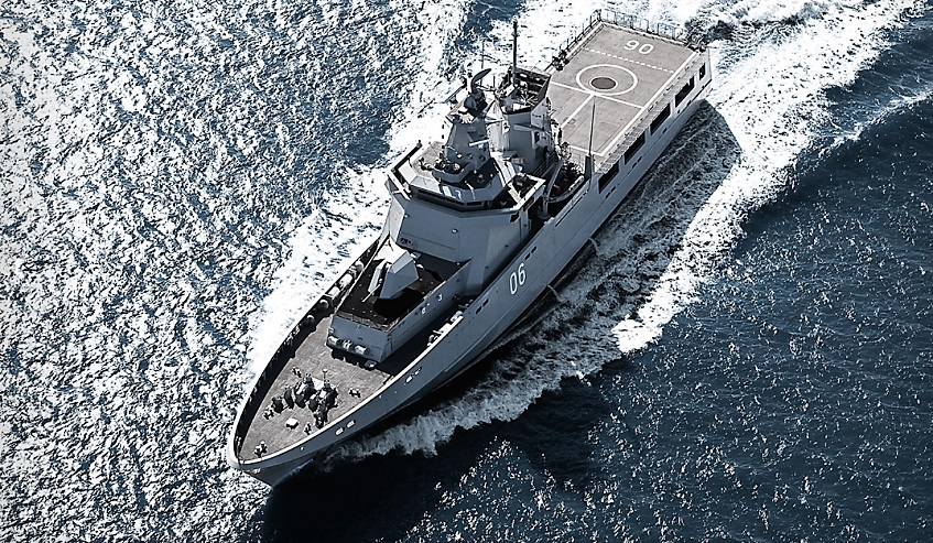First Steel Cut for Royal Australian Navy OPVs