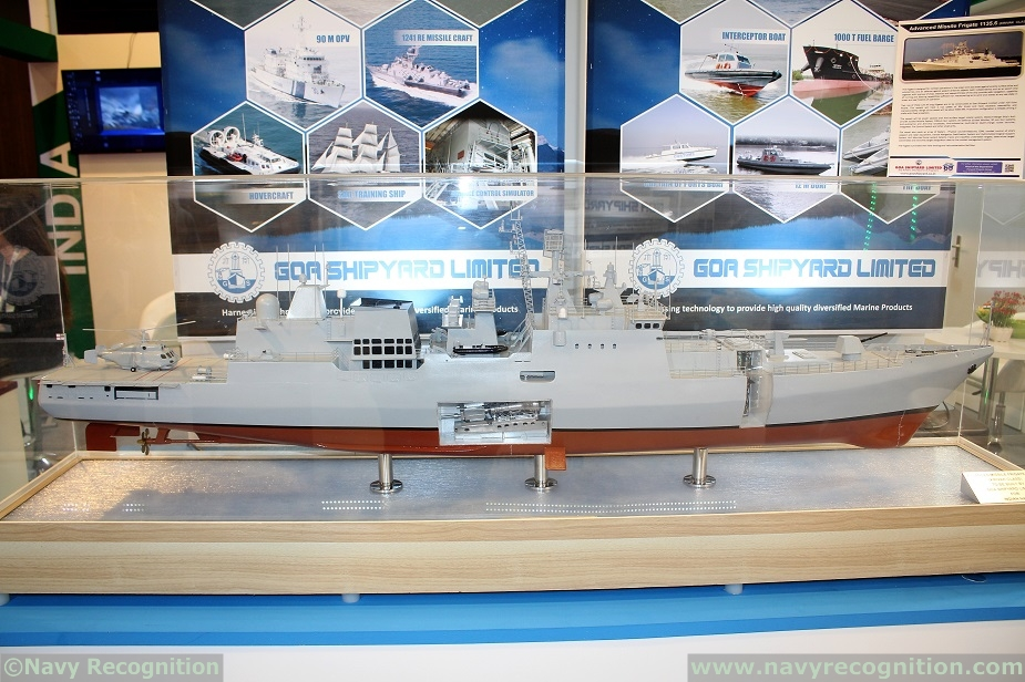 First locally built 11356 frigate to be handed over to Indian Navy in 2023