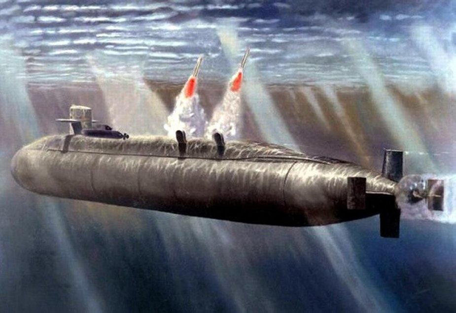 First test of Chinese new JL 3 submarine launched ballistic missile 2