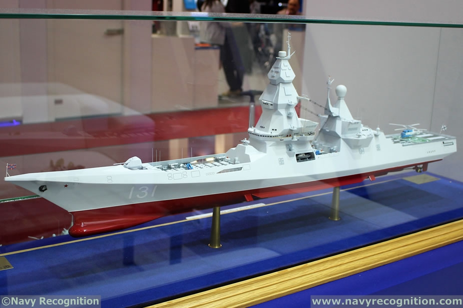USC Eyes Russian Navy Contract for Project 23560 Leader class Destroyer