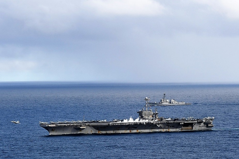 US Navy Carrier Strike Group Back in the Arctic Circle