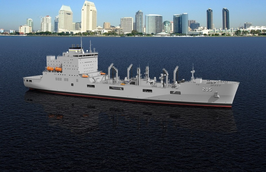 GD NASSCO Begins Construction of 1st T AO Fleet Oiler for U.S. Navy