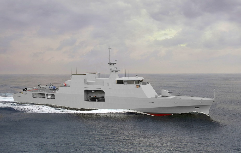 Modern Multi Role Offshore Patrol Vessel by Babcock