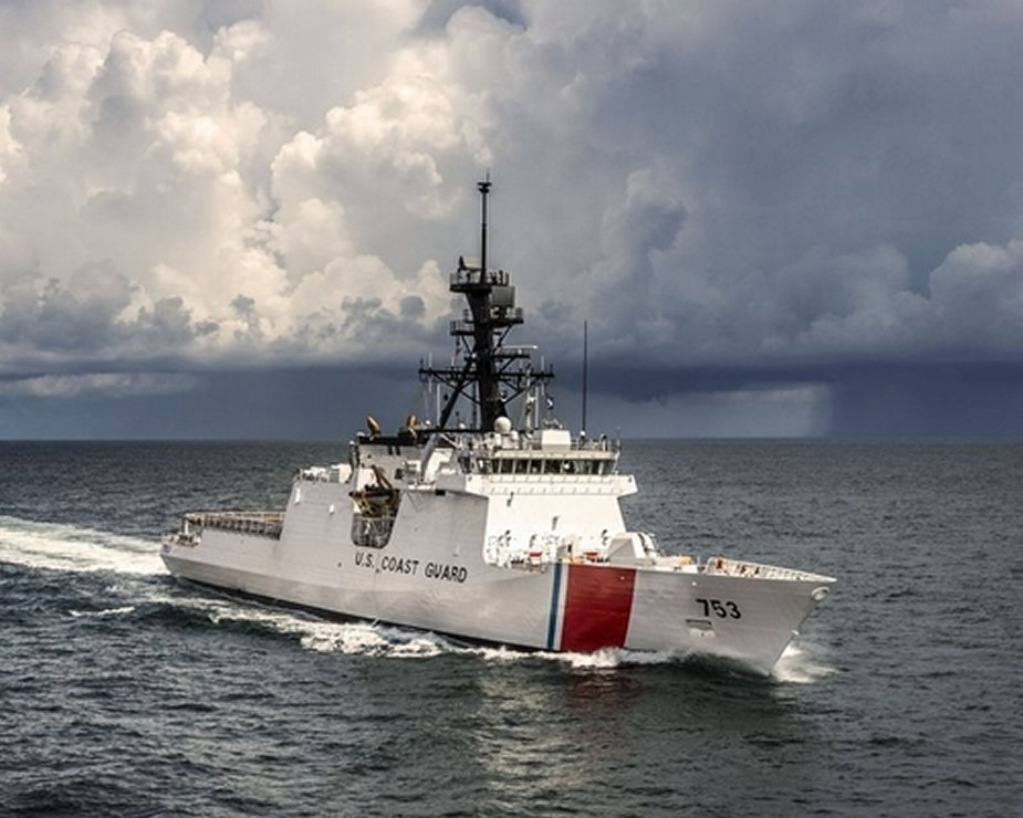 US Coast Guards receives 7th National Security Cutter