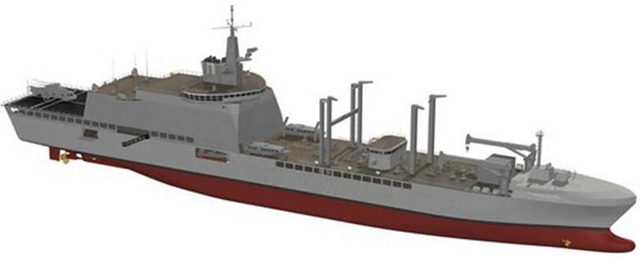 French Navy to acquire 4 LSS replenishment tankers